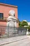 Colonne romaine. Brindisi. La Puglia. L'Italie. Photos stock