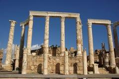 Colonne romane, Libia fotografie stock libere da diritti