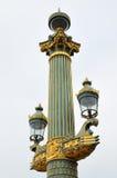 Colonne rostrale on Place De La Concorde Royalty Free Stock Image
