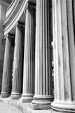 Colonne storiche di Denver fotografia stock libera da diritti