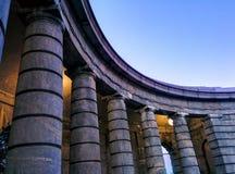 Colonne sul monumento circolare Immagine Stock Libera da Diritti