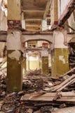 Colonne in vecchio palase Immagine Stock