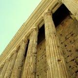 Colonnes antiques à Rome, Italie Photographie stock libre de droits