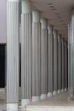 Colonnes argentées Image libre de droits
