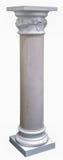 Colonnes, article de décoration fait de plâtre blanc Images libres de droits