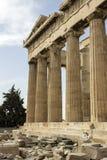 Colonnes d'Acropole Photographie stock