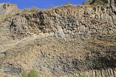 Colonnes de basalte Photographie stock libre de droits