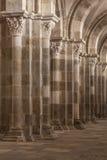 Colonnes de Vezelay Foto de archivo libre de regalías