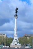 colonnes des girondins zdjęcia stock
