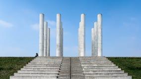 Colonnes di Douze Fotografie Stock Libere da Diritti