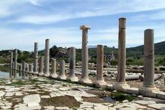 Colonnes et ruines image stock
