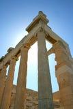 Colonnes grecques Photo libre de droits