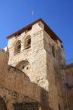 Colonnes saintes d'église de tombe Photos stock