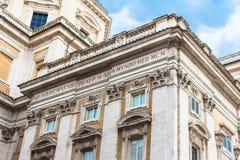 Colonnes Santa Maria Maggiore, Rome Image libre de droits