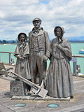 Colonos tempranos conmemorativos en Nelson, Nueva Zelanda Fotos de archivo libres de regalías