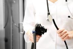 Colonoscope, gastroscope immagine stock libera da diritti