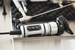 Colonoscope, gastroscope. Royalty Free Stock Photography