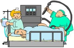 colonoscopy Стоковое Изображение RF