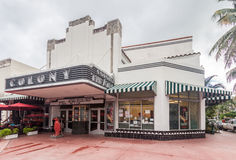 Colony Theater Miami Beach Florida Stock Photography