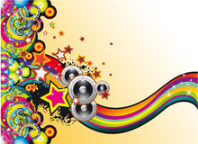 Free Coloorful Music Background Stock Photography - 9682872