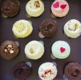 Coloque bolos Fotografia de Stock