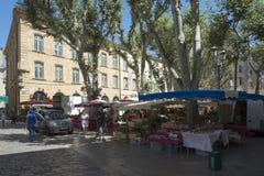 Coloque de l'HÃ'tel-de-Ville, Aix-en-Provence, França Fotos de Stock Royalty Free
