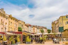 Coloque DES Cardeurs em Aix-en-Provence, França sul Imagem de Stock