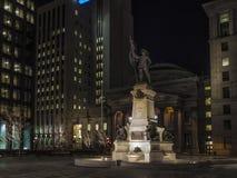 Coloque a estátua de Armes Maisonneuve do ` de d Imagem de Stock Royalty Free
