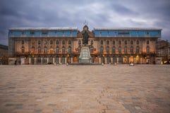 Coloque a Estanislao en Nancy, Francia Imágenes de archivo libres de regalías