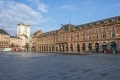 Coloque Kléber, Strasbourg, França Foto de Stock Royalty Free