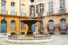 Coloque los d'Albertas en Aix-en-Provence, Francia Foto de archivo libre de regalías