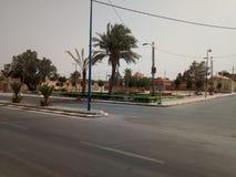 coloque o centro da cidade do ounif Argélia do beni foto de stock royalty free