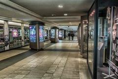 Coloque o corredor das artes do DES fotografia de stock