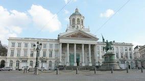 Coloque Royale en Bruselas almacen de metraje de vídeo