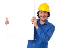 Coloque seu anúncio dos bens imobiliários aqui Imagens de Stock Royalty Free