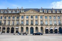 Coloque Vendome en París Fotos de archivo libres de regalías