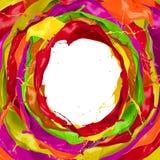 Coloré éclabousse Image libre de droits