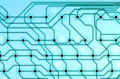 Coloré électronique de l'arrangement Image libre de droits