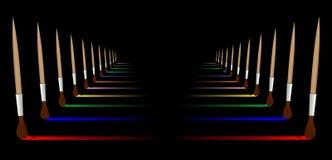 Coloré Photographie stock libre de droits