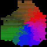 Coloré abstrait - fond Photographie stock libre de droits