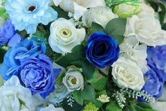 Coloré artificiel du fond de décor de fleur de Rose pour le message textuel Images libres de droits