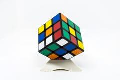 Coloré carré de cube Images stock