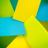 Coloré coloré en plastique pour le fond Photos stock