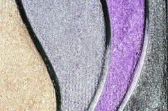 Coloré composez la poudre Image stock