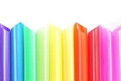 Coloré de la paille Photo stock