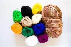 Coloré de la soie Photographie stock libre de droits