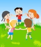 Coloré de petits enfants Photographie stock