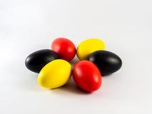 Coloré des eegs images stock