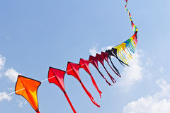 Coloré du cerf-volant Photo libre de droits