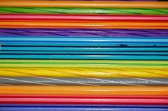 Coloré du crayon de couleur Photo stock